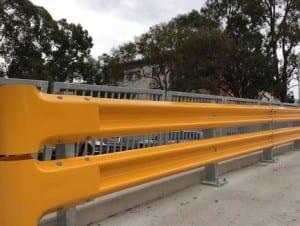 rhino stop truck guard warehouse barriers