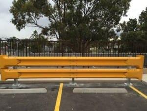 rhino stop truck guard car park barrier