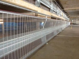 car park perimeter edge protection with rhino stop type 4 barrier