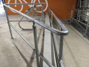 double rail handrail