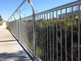 Uni-Fit Triple Handrail for pedestrian pathway