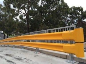 rhino stop truck guard car park ramp protection