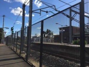 weldmesh security fencing