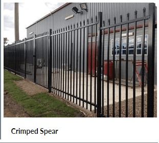 Crimped Spear Fencing