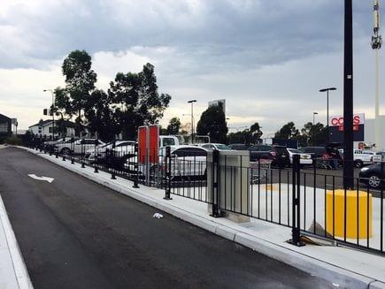 pedestrian fencing type 5 pedestrian barrier