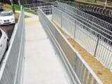 walkway safety barrier pedestrian fencing type 1