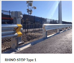 RHINO STOP Type 1 Parking Barrier
