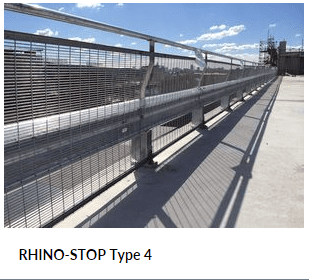 RHINO STOP Type 4 Parking Barrier