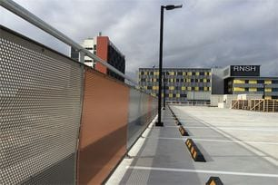 royal north shore hospital parking barriers project