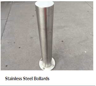 Stainless Steel Bollards for Car Parking Barrier Systems
