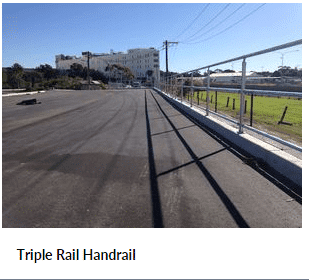 Uni-Fit Triple Handrail