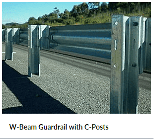 W Beam Guardrail Barrier