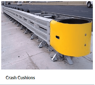 Road Barrier Crash Cushions