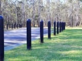 plastic bollards for car parking barrier