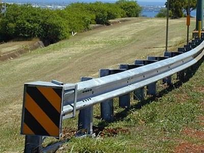 guardrail end terminal