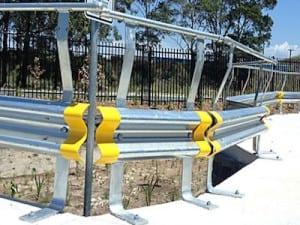 spring steel buffers car parking barriers