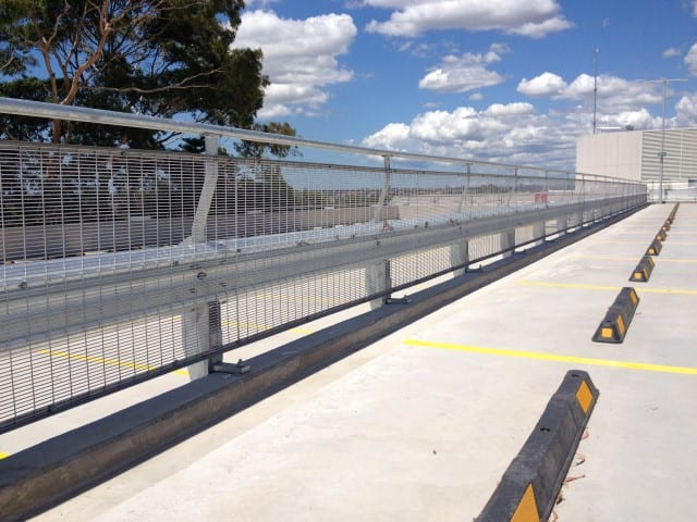 installation of rhino stop type 4 at the tope level on canterbury park