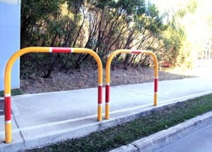 yellow fencing