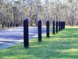 Recycled Plastic Parking Barrier Bollards
