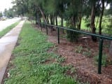 Metal Fencing Specialists Single Rail Hand Railing