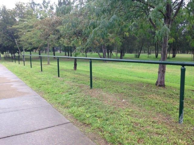single rail uni fit handrail