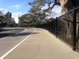 Steel Pedestrian Fencing