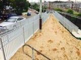 Pedestrian Pathway Fencing