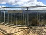 Triple Rail Handrail at Cahills Lookout