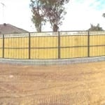 Lapped & Capped Paling Fencing