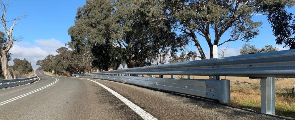 biker shield guardrail road crash barrier