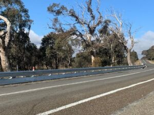biker shield road crash barrier