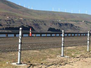 brifen wire rope road barrier