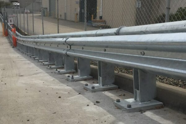 ramp barrier with rhino stop 240