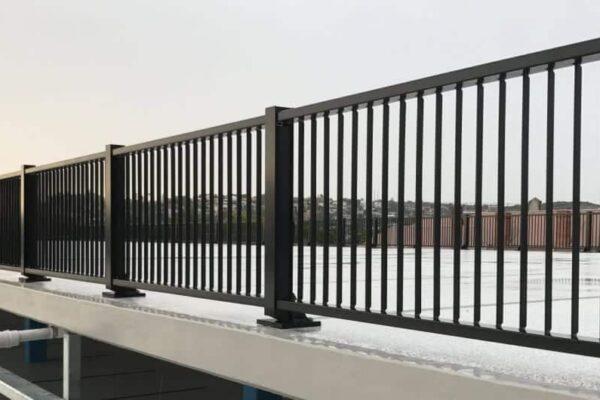rhino stop elite modular barrier guardrail