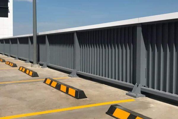 perimeter edge protection with rhino stop elite
