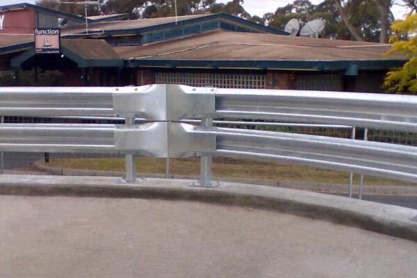 armco railguard curve