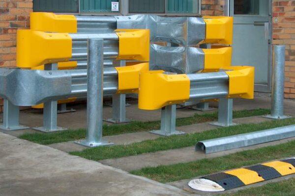 armco railguard display